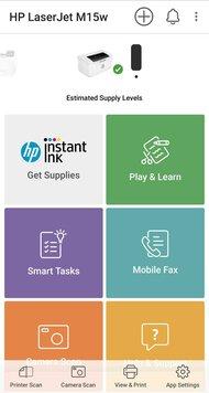 HP LaserJet Pro M15w App Printscreen