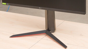 LG 27GN650-B Stand Picture