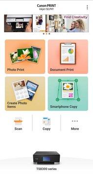 Canon PIXMA TS8320 App Printscreen