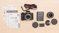 Canon EOS M50 Mark II In The Box Picture