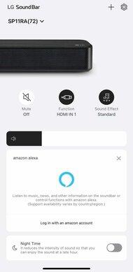 LG SP11RA App image