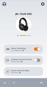 JBL Tour One Wireless App Picture