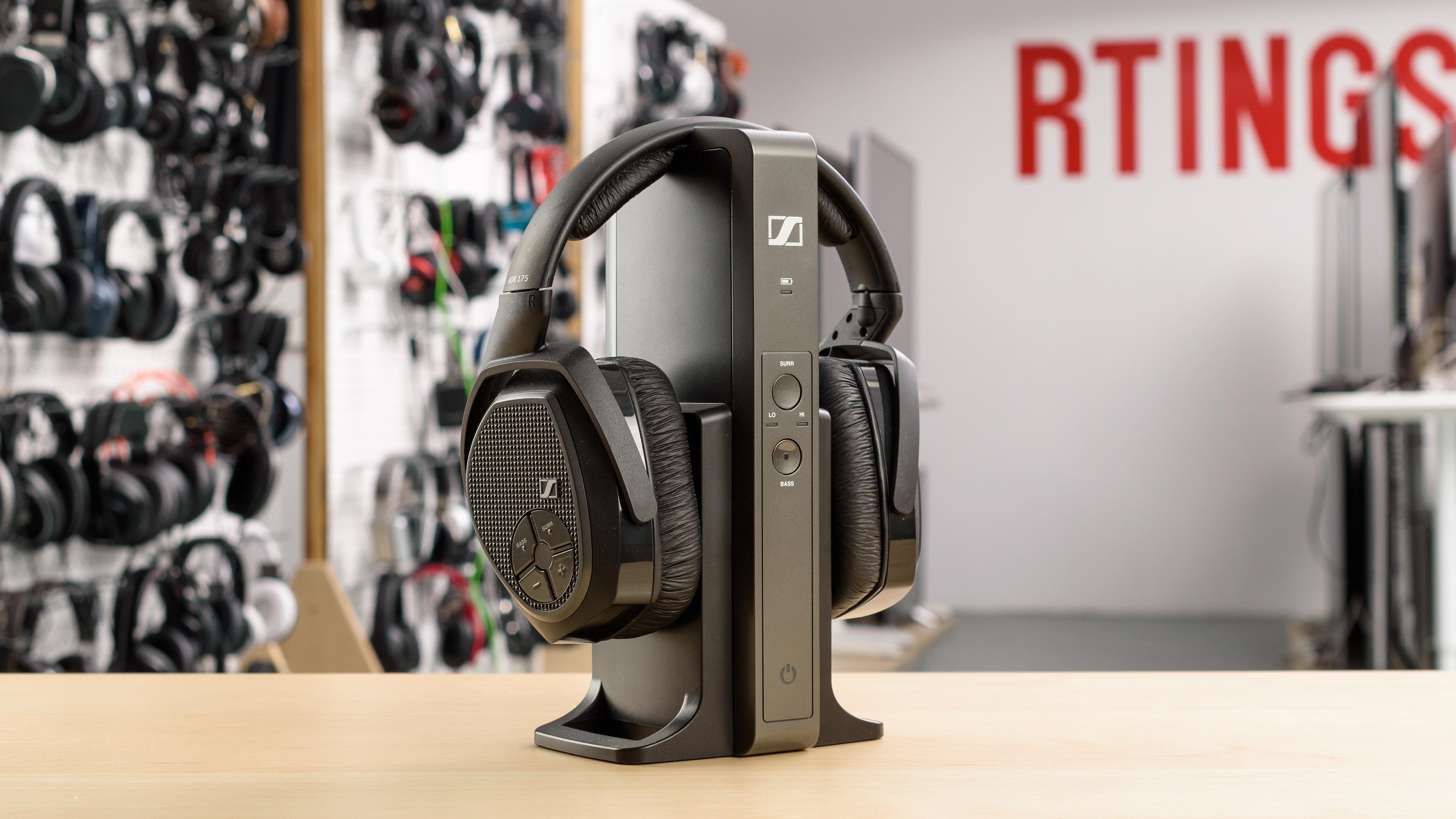 40bccd45055 Sennheiser RS 175 RF Wireless Review - RTINGS.com