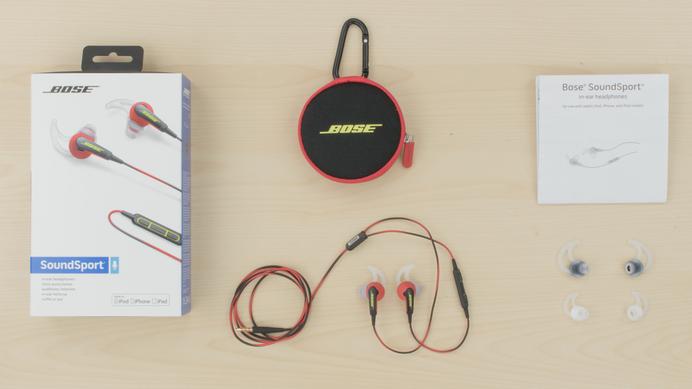 Bose SoundSport In-Ear In the box Picture