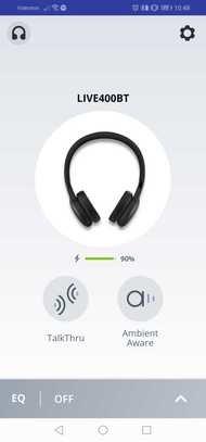 JBL Live 400BT Wireless App Picture