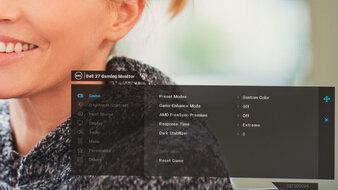 Dell S2722DGM OSD Picture