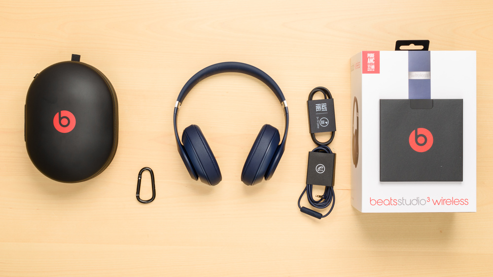 Beats Studio3 Wireless In the box Picture