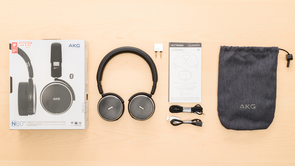 AKG N60NC Wireless In the box Picture