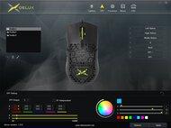 DELUX M700 Software settings screenshot