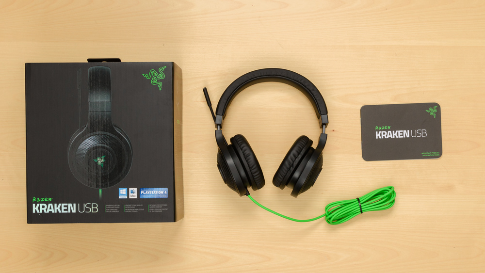 Razer Kraken USB In the box Picture
