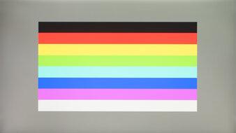 LG 32GN650-B Color Bleed Horizontal