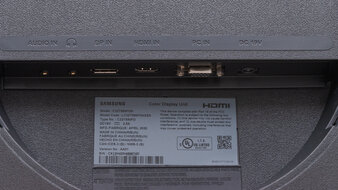 Samsung T55 Inputs 1