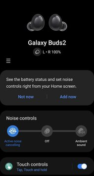 Samsung Galaxy Buds2 Truly Wireless App Picture