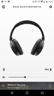 Bose QuietComfort 35/QC35 Wireless 2016 App Picture