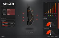 Anker High Precision Gaming Mouse Software settings screenshot