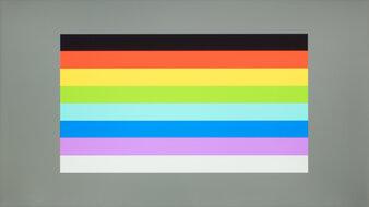 Mobile Pixels DUEX Plus Color Bleed Horizontal