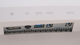 Dell S3221QS Inputs 1