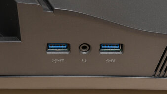 Dell S3422DWG Inputs 2