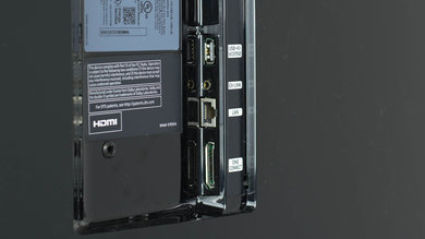 Samsung KS8500 Side Inputs Picture