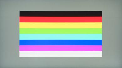 MSI Optix MPG27CQ Color bleed horizontal