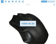 VicTsing  Wireless Gaming Mouse 3D Model