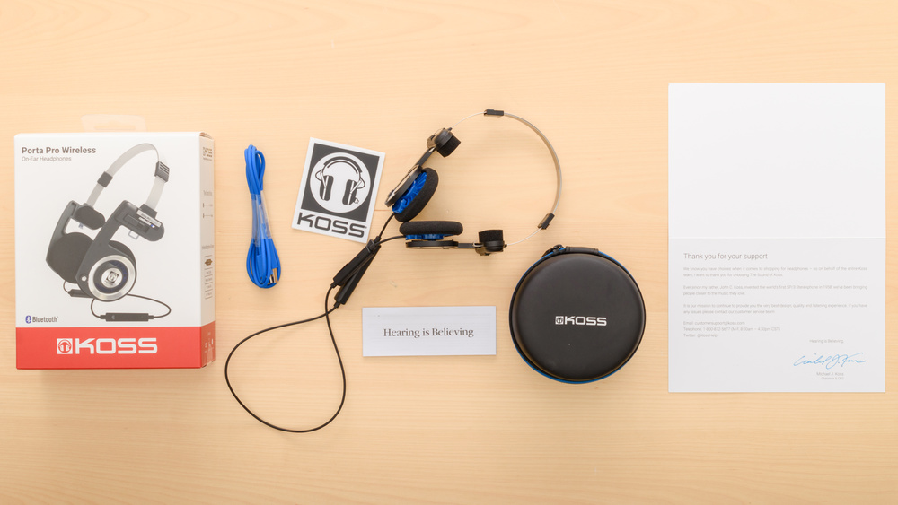 Koss Porta Pro Wireless In the box Picture
