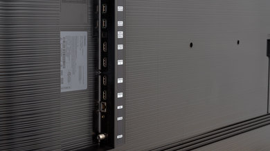 Samsung Q80/Q80R QLED Side Inputs Picture