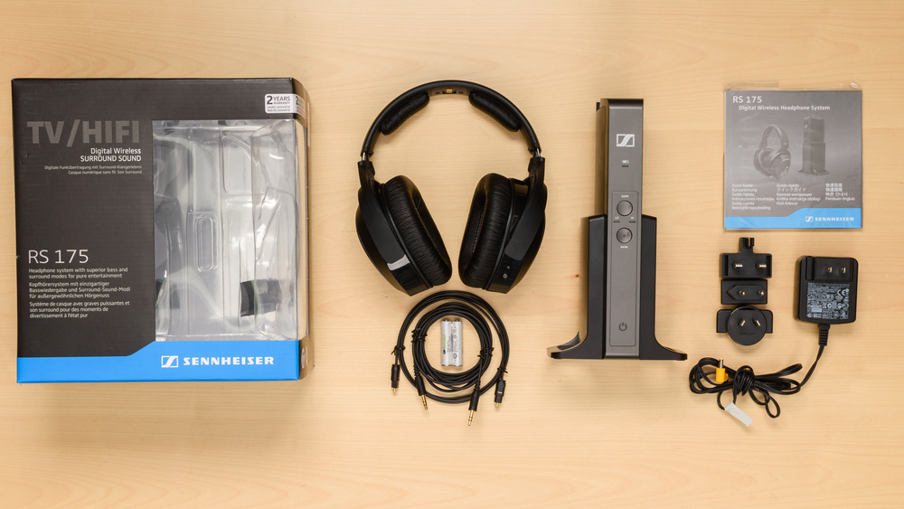 Sennheiser RS 175 In the box Picture