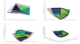 Gigabyte M28U 2020 Color Volume ITP Picture