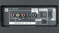 Sony X800D Rear Inputs Picture