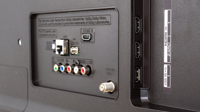 LG UK6300 Side Inputs Picture