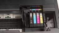 Epson WorkForce Pro WF-3720 Cartridge Picture In The Printer