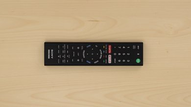 Sony Z9D Remote Picture