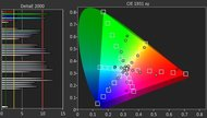 Sony X720E Color Gamut Rec.2020 Picture