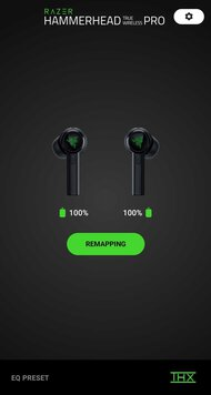 Razer Hammerhead True Wireless Pro App Picture