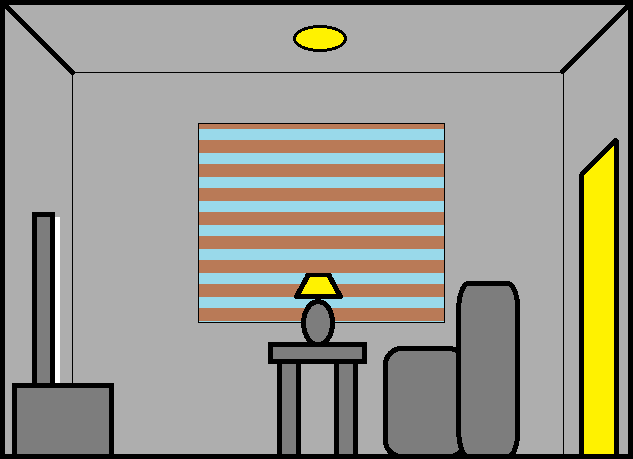 Room Brightness diagram