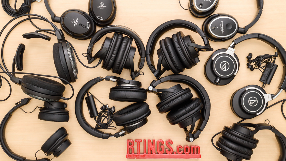 Audio-Technica Headphones Lineup