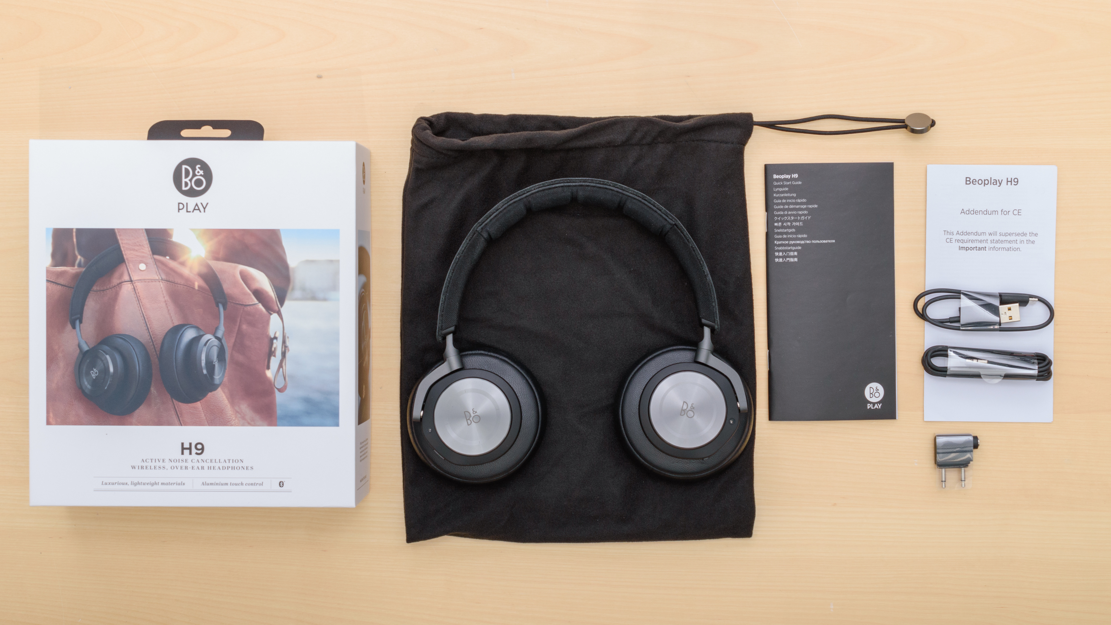 Bo Play Beoplay H9 Review Bang Ampamp Olufsen H3 Lightweight Earphone Silver In The Box Picture