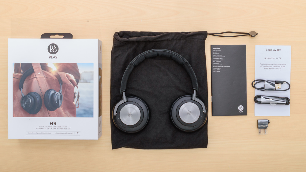 B&O PLAY Beoplay H9 Wireless In the box Picture