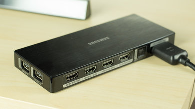 Samsung JS8500 Rear Inputs Picture