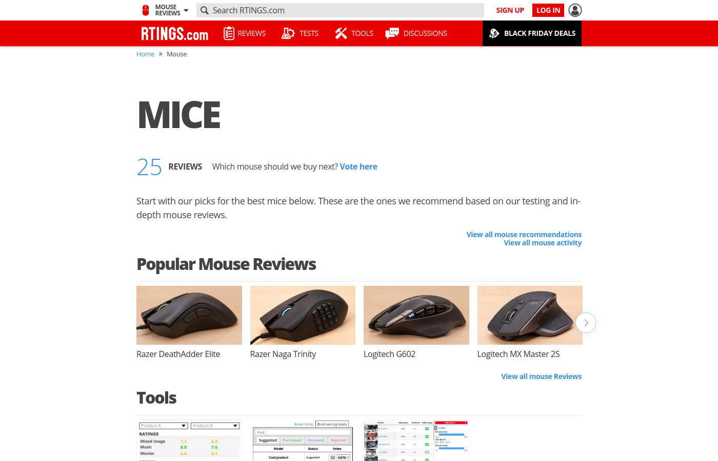Mouse Reviews: Best of 2019 - RTINGS com