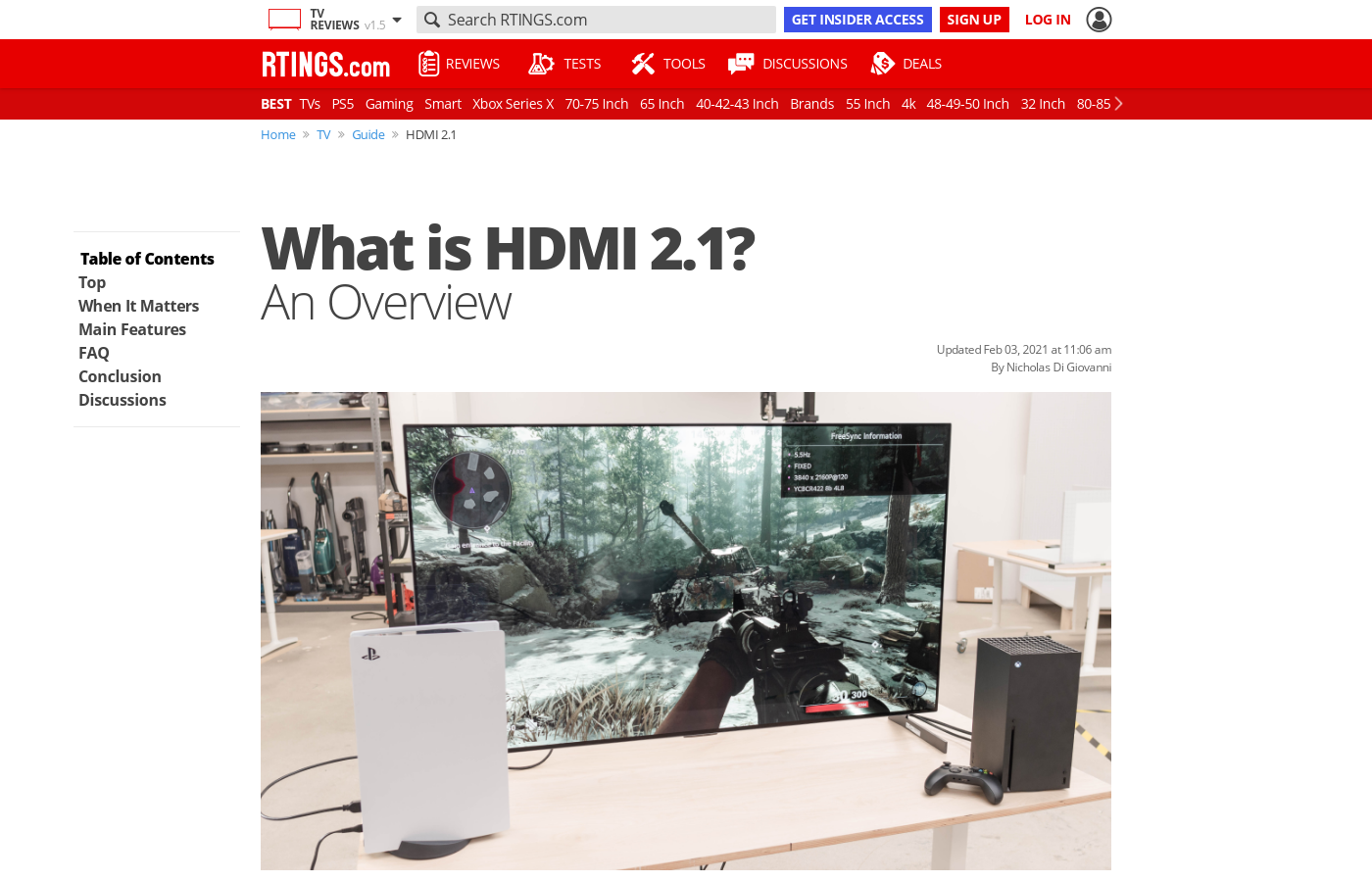 What is HDMI 2 1? An overview - RTINGS com