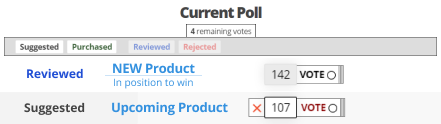 Image of the Vote for the next blender we buy