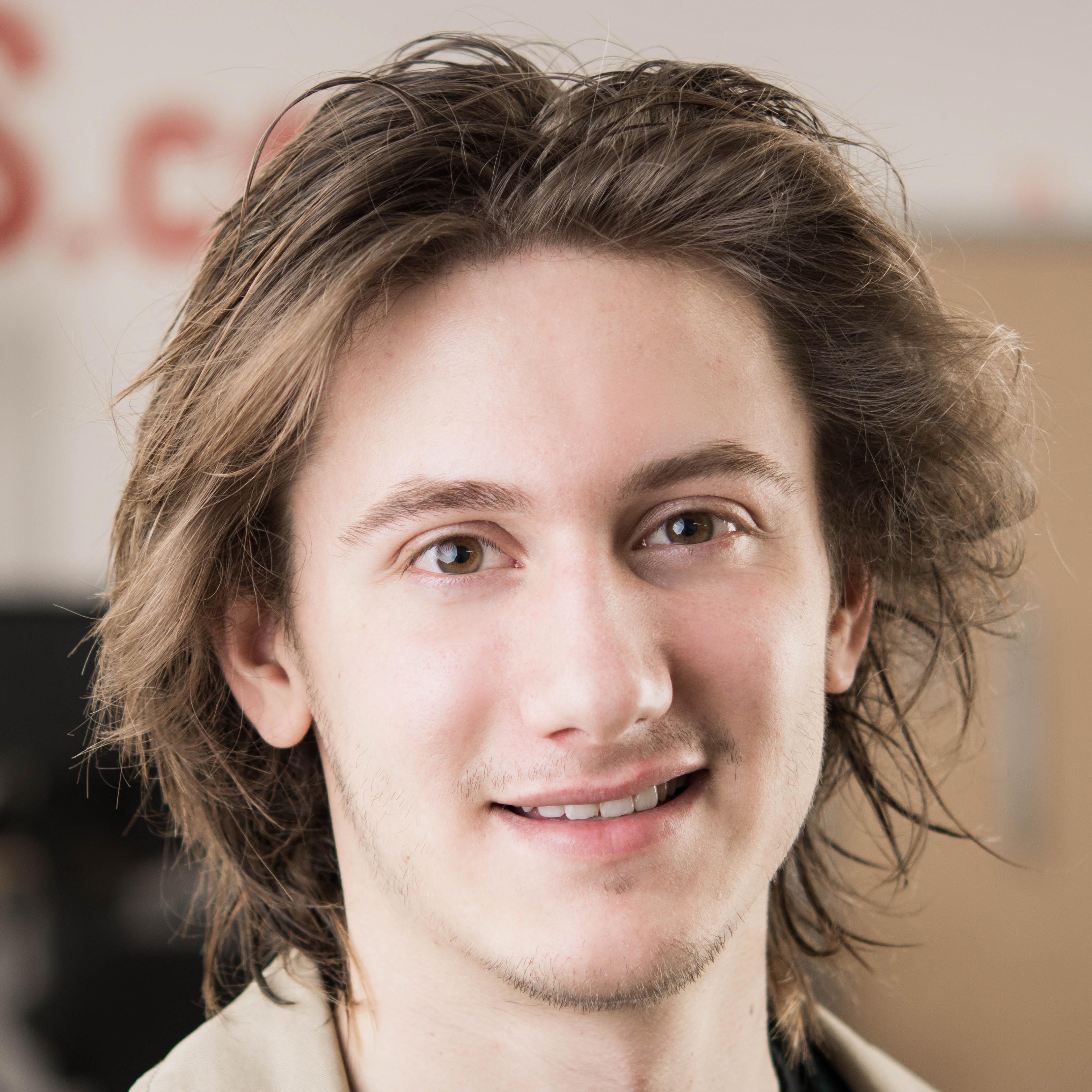 Photograph of Jackson Smylie