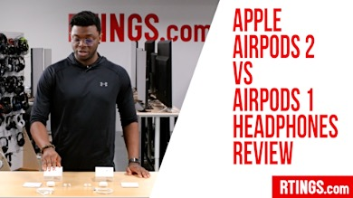 Video: Apple AirPods 2 vs AirPods 1 Headphones Review