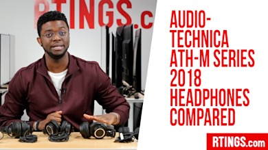 Video: All Audio-Technica ATH-M series Headphones Compared