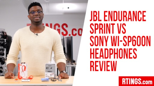 Video: JBL Endurance Sprint vs Sony WI-SP600N Headphones Review
