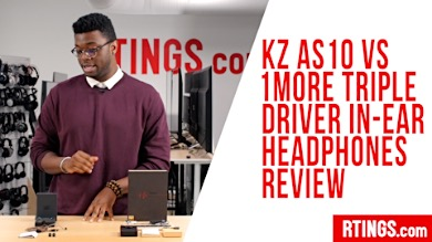 Video: KZ AS10 vs 1More Triple Driver In-Ear headphones