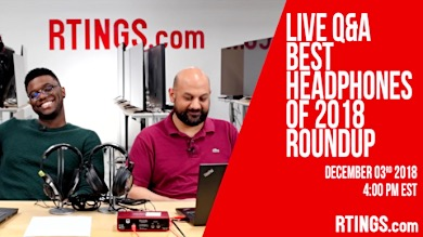 Video: Live Q&A: Best Headphones of 2018 Roundup