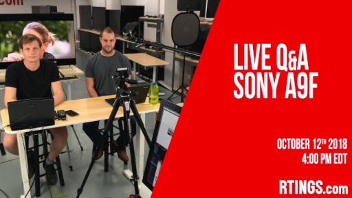Video: Live Q&A Sony A9F at 4:00PM EDT